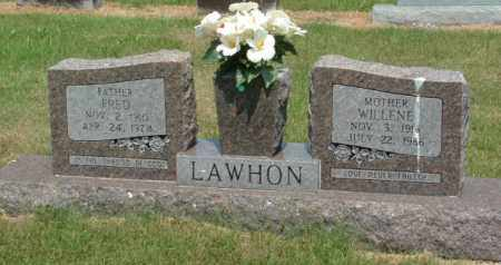 LAWHON, FRED - Izard County, Arkansas | FRED LAWHON - Arkansas Gravestone Photos