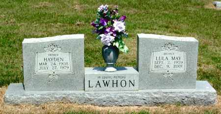 LAWHON, HAYDEN A - Izard County, Arkansas | HAYDEN A LAWHON - Arkansas Gravestone Photos