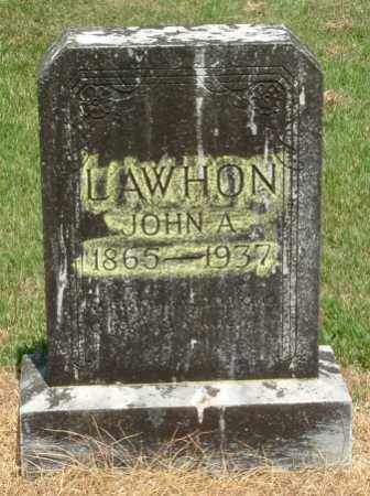 LAWHON, JOHN ACE - Izard County, Arkansas | JOHN ACE LAWHON - Arkansas Gravestone Photos