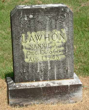 LAWHON, NANCY ANN - Izard County, Arkansas | NANCY ANN LAWHON - Arkansas Gravestone Photos