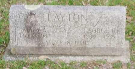 LAYTON, GEORGE RILEY - Izard County, Arkansas | GEORGE RILEY LAYTON - Arkansas Gravestone Photos