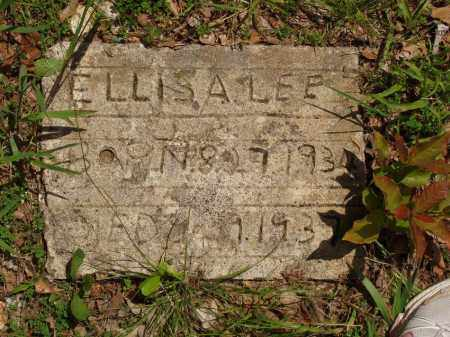 LEE, ELLIS A - Izard County, Arkansas | ELLIS A LEE - Arkansas Gravestone Photos