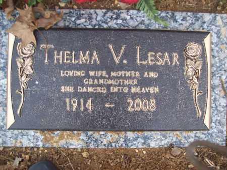 LESAR, THELMA V - Izard County, Arkansas | THELMA V LESAR - Arkansas Gravestone Photos