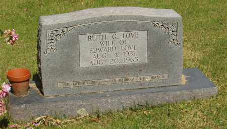 LOVE, RUTH G - Izard County, Arkansas | RUTH G LOVE - Arkansas Gravestone Photos