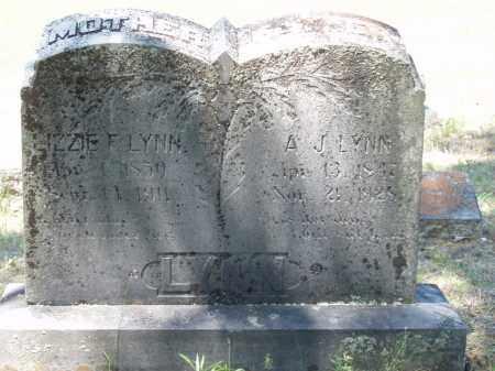 LYNN, ANDREW JACKSON - Izard County, Arkansas | ANDREW JACKSON LYNN - Arkansas Gravestone Photos