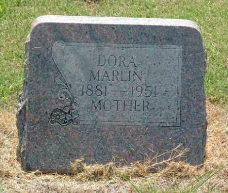 WILKES MARLIN, LUCY LEE DORA - Izard County, Arkansas | LUCY LEE DORA WILKES MARLIN - Arkansas Gravestone Photos