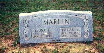 MARLIN, LEONA E. - Izard County, Arkansas | LEONA E. MARLIN - Arkansas Gravestone Photos