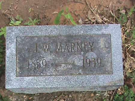 MARNEY, J. W. - Izard County, Arkansas | J. W. MARNEY - Arkansas Gravestone Photos