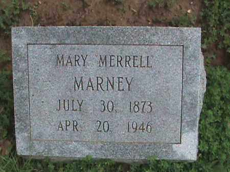 "MARNEY, MARY ""MERRELL"" - Izard County, Arkansas 