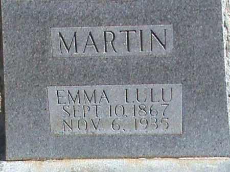 MARTIN, EMMA LULU - Izard County, Arkansas | EMMA LULU MARTIN - Arkansas Gravestone Photos