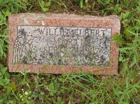 MARTIN, WILLIE ELBERT - Izard County, Arkansas | WILLIE ELBERT MARTIN - Arkansas Gravestone Photos