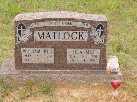 "MATLOCK, WILLIAM ""BILL"" - Izard County, Arkansas 