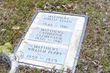 MATTHEWS, WILLIAM PERRY - Izard County, Arkansas | WILLIAM PERRY MATTHEWS - Arkansas Gravestone Photos