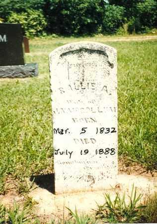 ROGERS MCCOLLUM, SARAH - Izard County, Arkansas | SARAH ROGERS MCCOLLUM - Arkansas Gravestone Photos