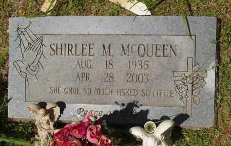 MC QUEEN, SHIRLEE M - Izard County, Arkansas | SHIRLEE M MC QUEEN - Arkansas Gravestone Photos