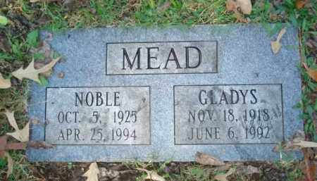 MEAD, NOBLE - Izard County, Arkansas | NOBLE MEAD - Arkansas Gravestone Photos