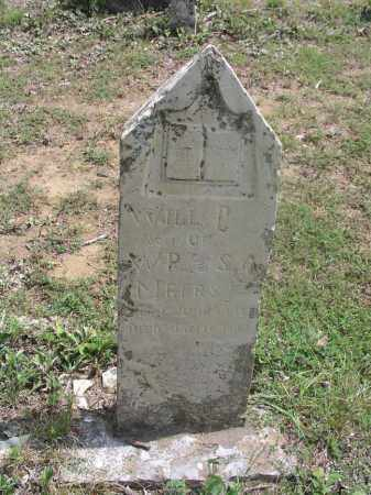 MEERS, WILL P. - Izard County, Arkansas | WILL P. MEERS - Arkansas Gravestone Photos