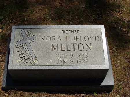 FLOYD MELTON, NORA L - Izard County, Arkansas | NORA L FLOYD MELTON - Arkansas Gravestone Photos