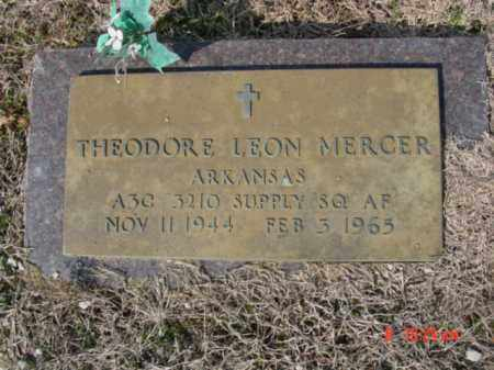 MERCER  (VETERAN), THEODORE LEON - Izard County, Arkansas | THEODORE LEON MERCER  (VETERAN) - Arkansas Gravestone Photos