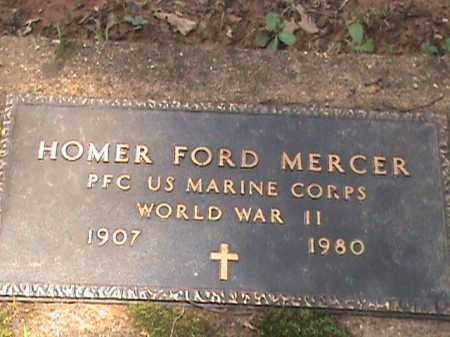 MERCER (VETERAN WWII), HOMER FORD - Izard County, Arkansas | HOMER FORD MERCER (VETERAN WWII) - Arkansas Gravestone Photos