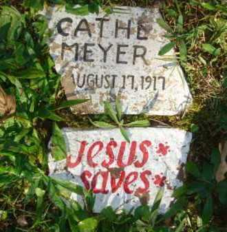 MEYER, CATHERINE CATHE - Izard County, Arkansas | CATHERINE CATHE MEYER - Arkansas Gravestone Photos