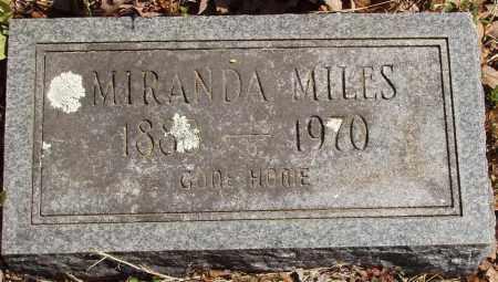 MILES, MIRANDA - Izard County, Arkansas | MIRANDA MILES - Arkansas Gravestone Photos