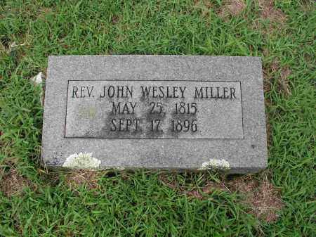 MILLER, REV JOHN WESLEY - Izard County, Arkansas | REV JOHN WESLEY MILLER - Arkansas Gravestone Photos