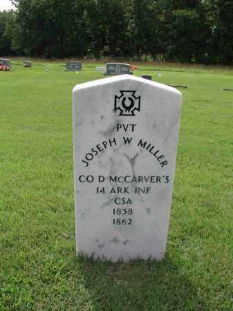 MILLER  (VETERAN CSA), JOSEPH W - Izard County, Arkansas | JOSEPH W MILLER  (VETERAN CSA) - Arkansas Gravestone Photos