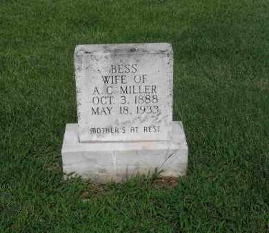 MILLER, BESS - Izard County, Arkansas | BESS MILLER - Arkansas Gravestone Photos