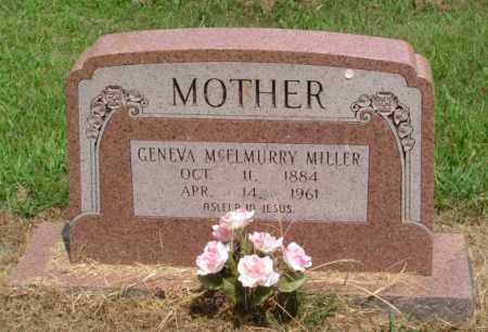 MC ELMURRY MILLER, GENEVA - Izard County, Arkansas | GENEVA MC ELMURRY MILLER - Arkansas Gravestone Photos