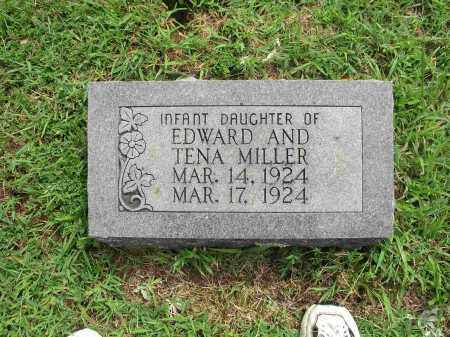 MILLER, INFANT DAUGHTER - Izard County, Arkansas | INFANT DAUGHTER MILLER - Arkansas Gravestone Photos