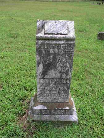 MILLER, JOHN CALVIN - Izard County, Arkansas | JOHN CALVIN MILLER - Arkansas Gravestone Photos