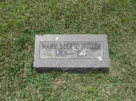 MILLER, MARY BECKIE - Izard County, Arkansas | MARY BECKIE MILLER - Arkansas Gravestone Photos