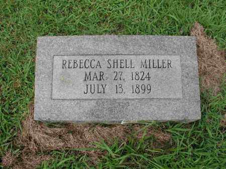 SHELL MILLER, REBECCA - Izard County, Arkansas | REBECCA SHELL MILLER - Arkansas Gravestone Photos