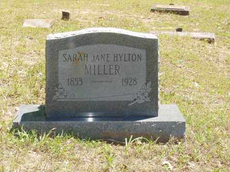 HYLTON MILLER, SARAH JANE - Izard County, Arkansas | SARAH JANE HYLTON MILLER - Arkansas Gravestone Photos