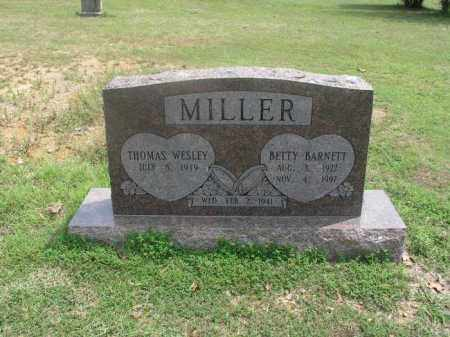 MILLER (VETERAN WWII), THOMAS WESLEY - Izard County, Arkansas | THOMAS WESLEY MILLER (VETERAN WWII) - Arkansas Gravestone Photos
