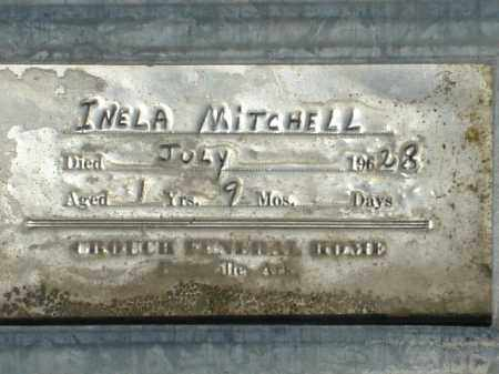 MITCHELL, INELA - Izard County, Arkansas | INELA MITCHELL - Arkansas Gravestone Photos
