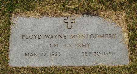 MONTGOMERY  (VETERAN), FLOYD WAYNE - Izard County, Arkansas | FLOYD WAYNE MONTGOMERY  (VETERAN) - Arkansas Gravestone Photos