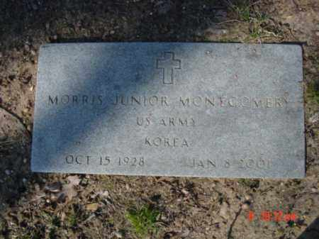 MONTGOMERY  (VETERAN KOR), MORRIS JUNIOR - Izard County, Arkansas | MORRIS JUNIOR MONTGOMERY  (VETERAN KOR) - Arkansas Gravestone Photos