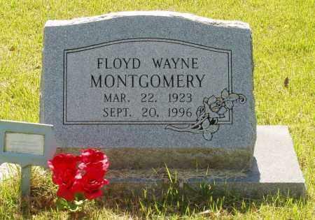 MONTGOMERY, FLOYD WAYNE - Izard County, Arkansas | FLOYD WAYNE MONTGOMERY - Arkansas Gravestone Photos