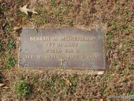 MOREHEAD  (VETERAN WWII), BERLIN MAZHON - Izard County, Arkansas | BERLIN MAZHON MOREHEAD  (VETERAN WWII) - Arkansas Gravestone Photos