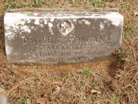 MORGAN  (VETERAN WWII), DOYLE C - Izard County, Arkansas | DOYLE C MORGAN  (VETERAN WWII) - Arkansas Gravestone Photos
