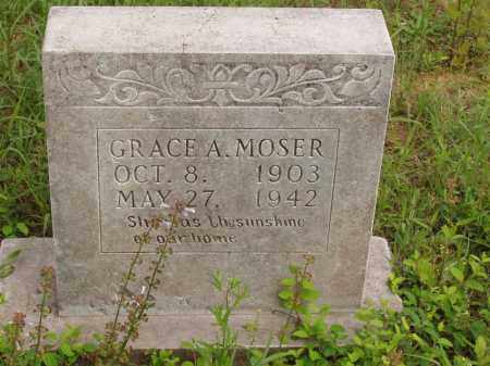 HALL MOSER, GRACE ALTA - Izard County, Arkansas | GRACE ALTA HALL MOSER - Arkansas Gravestone Photos