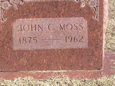 MOSS, JOHN C. - Izard County, Arkansas | JOHN C. MOSS - Arkansas Gravestone Photos