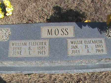 MOSS, WILLIE ELIZABETH - Izard County, Arkansas | WILLIE ELIZABETH MOSS - Arkansas Gravestone Photos