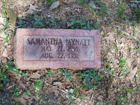 MYNATT, SAMANTHA - Izard County, Arkansas | SAMANTHA MYNATT - Arkansas Gravestone Photos