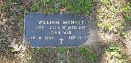 MYNETT  (VETERAN UNION), WILLIAM - Izard County, Arkansas | WILLIAM MYNETT  (VETERAN UNION) - Arkansas Gravestone Photos
