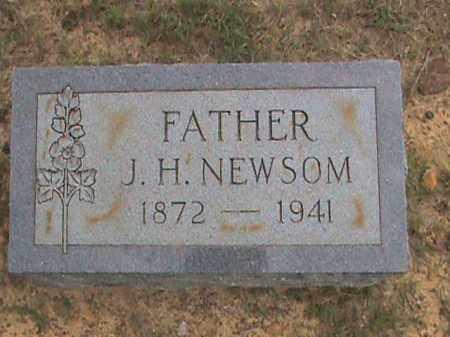 NEWSOM, J. H. - Izard County, Arkansas | J. H. NEWSOM - Arkansas Gravestone Photos