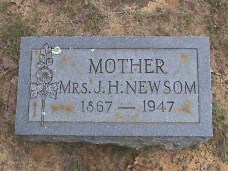 NEWSOM, MRS. J. H. - Izard County, Arkansas | MRS. J. H. NEWSOM - Arkansas Gravestone Photos