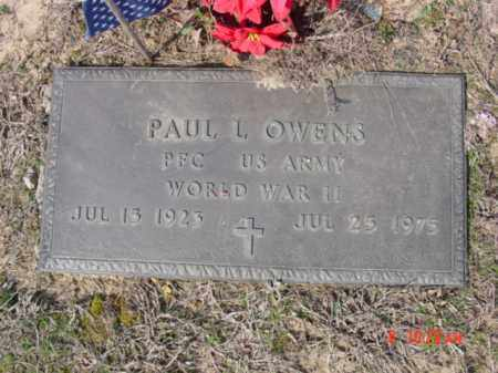 OWENS  (VETERAN WWII), PAUL L - Izard County, Arkansas | PAUL L OWENS  (VETERAN WWII) - Arkansas Gravestone Photos